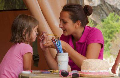 Sole di Sari Children's Face Painting