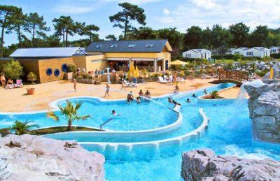 Yelloh Village les Pins Swimming Pool Slide Chute