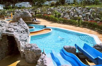 Yelloh Village les Pins Pitch Only Waterslides