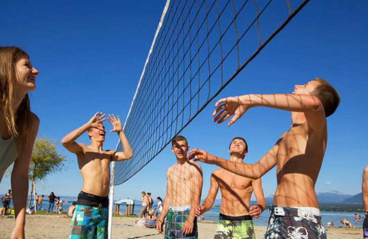 Campeole la Pinede Beach Volleyball