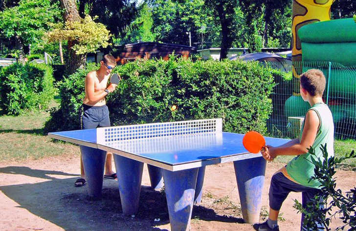 Campeole la Pinede Pitch Only Table Tennis