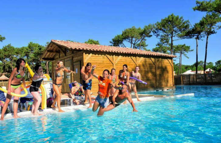 Campeole les Tourterelles Pool Fun