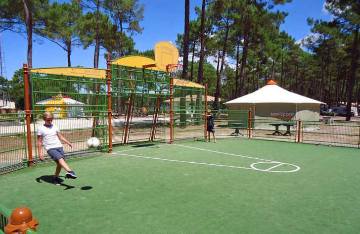 Campeole Medoc Plage Pitch Only Sports Facilities
