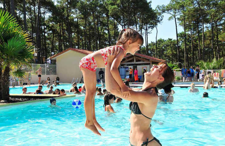 Campeole Plage Sud Family Pool Fun