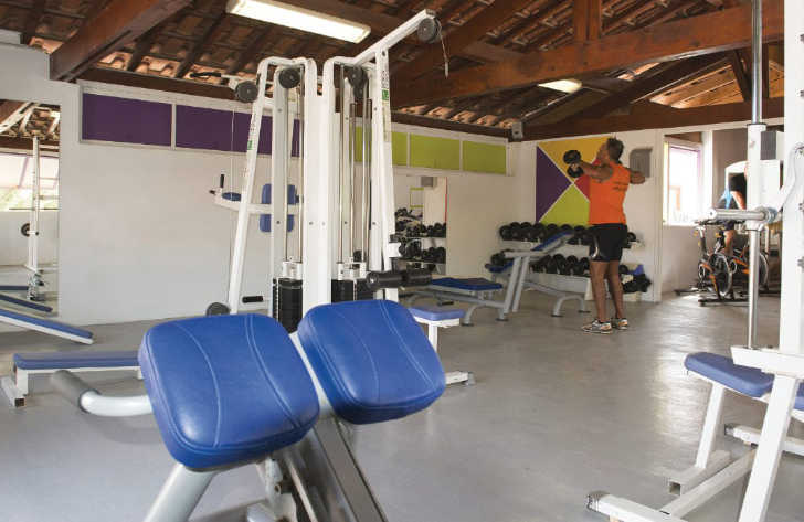 Camping Club Mar Estang Gym