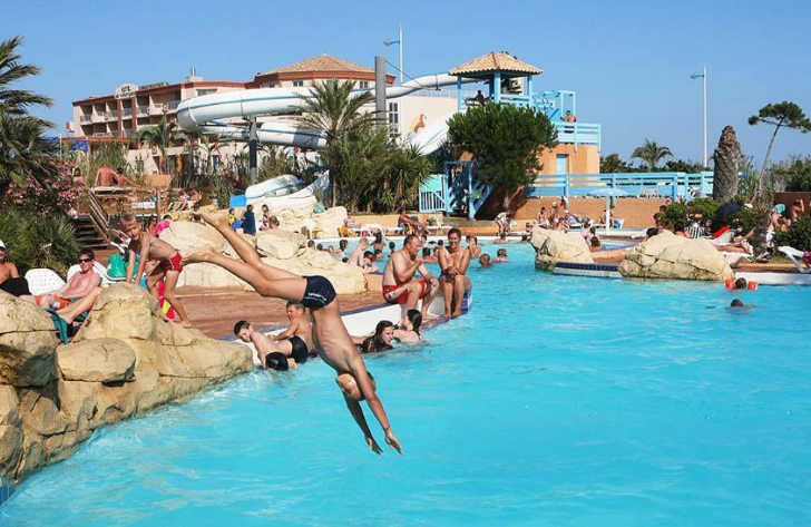 Camping Club Mar Estang Swimming Pool Complex