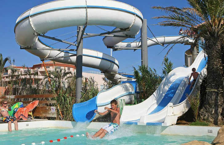 Camping Club Mar Estang Waterslides