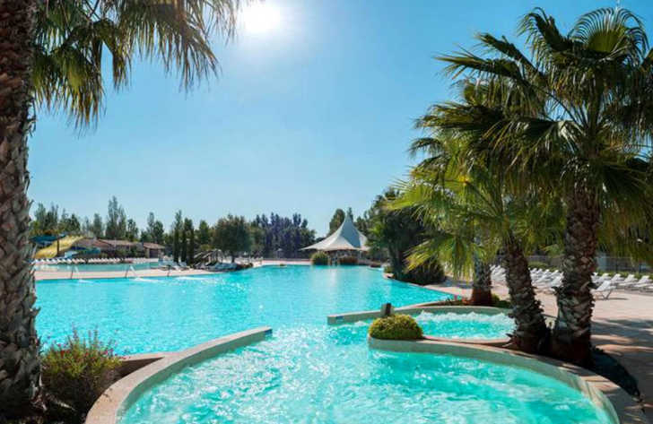 Camping La Carabasse Swimming Pool