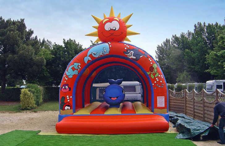 Camping La Touesse Kids Inflatable