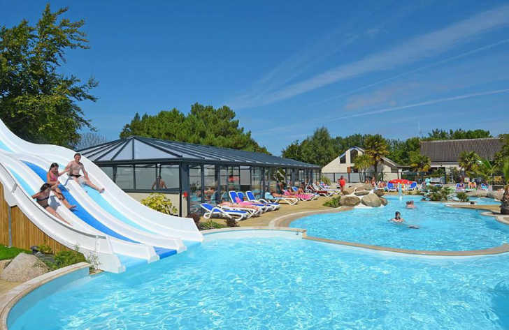 Camping La Touesse  Swimming Pool Complex