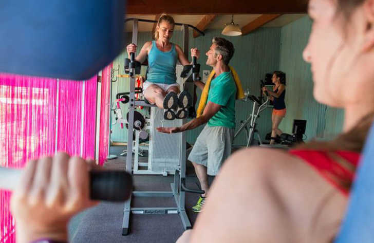 Camping le Bonne Anse Gym Fitness