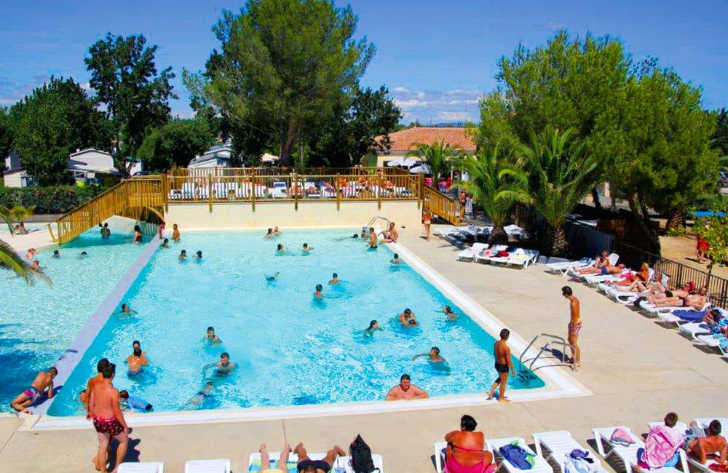 Camping Le Cap Agathois Swimming Pool