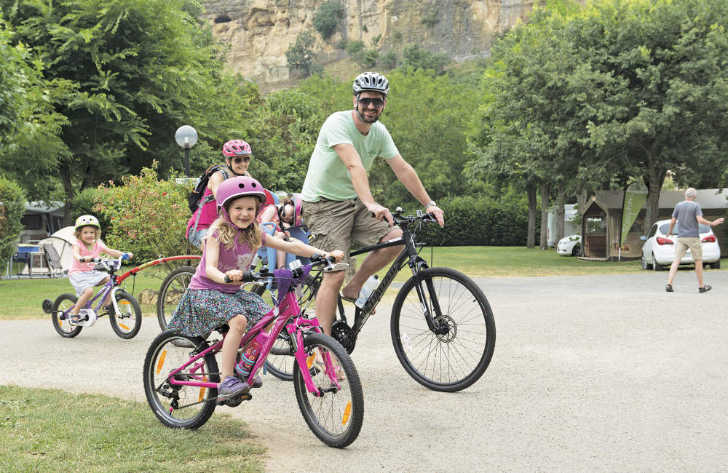 Camping le Capeyrou Family Cycling