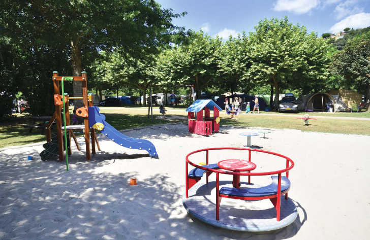 Camping le Capeyrou Play Area