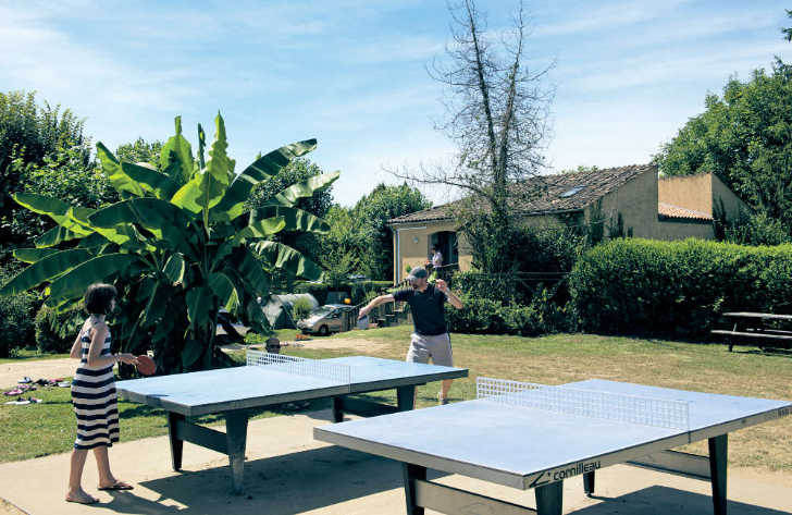 Camping le Capeyrou Table Tennis
