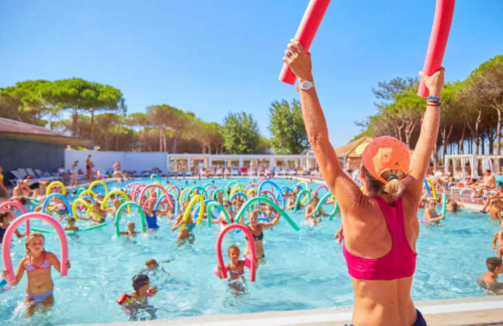 Camping le Castellas Pool Fitness