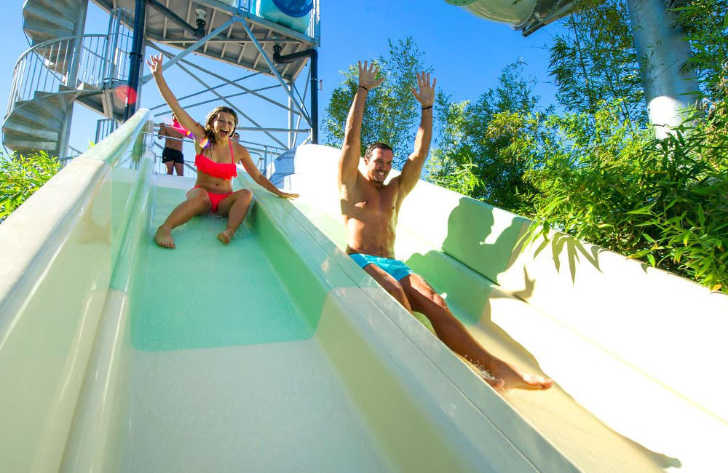Camping le Castellas Waterslides