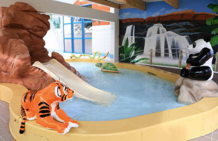 Camping le Chaponnet Childrens Pool