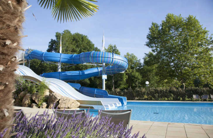 Camping le Moulin de la Pique Water Slide