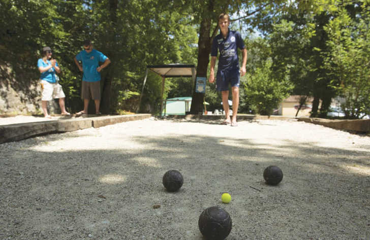 Camping Le Val d'Ussel Boules