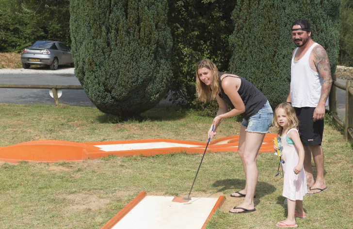 Camping Le Val d'Ussel Family Mini Golf