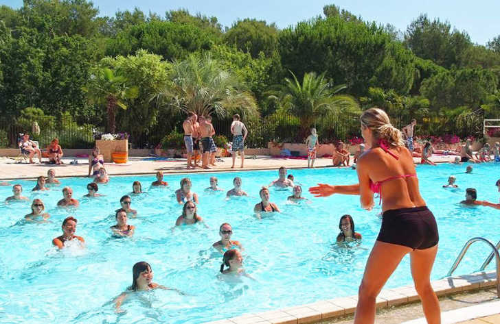 Camping lei Suves Pool Fitness