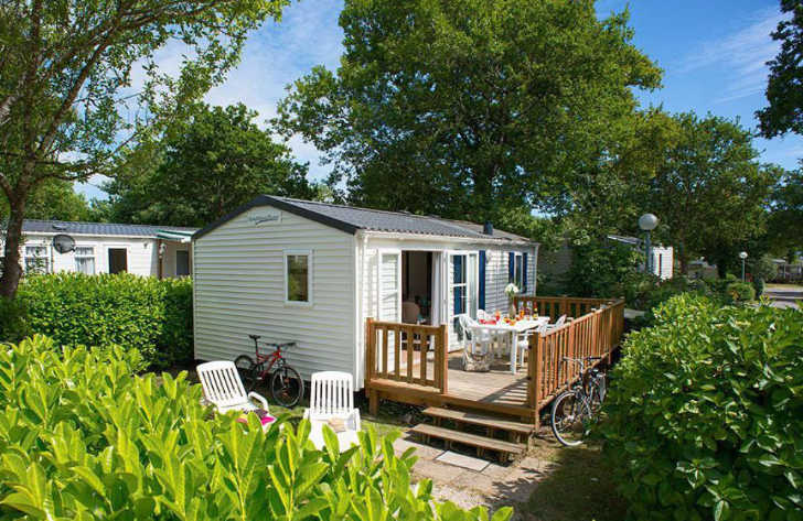 Camping les Charmettes Accommodation Mobile Home