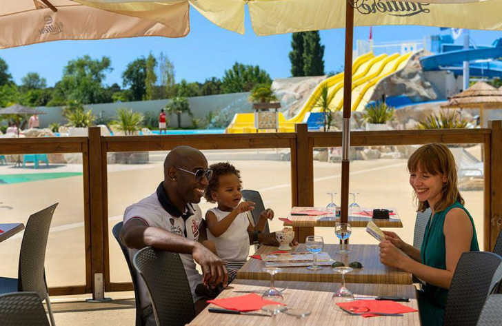 Camping les Charmettes Restaurant