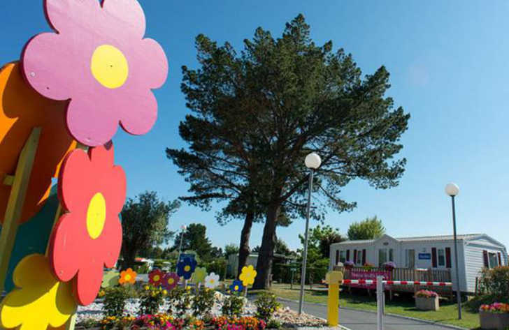 Camping les Charmettes Site