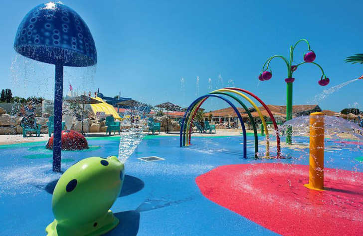 Camping les Charmettes Sprayground