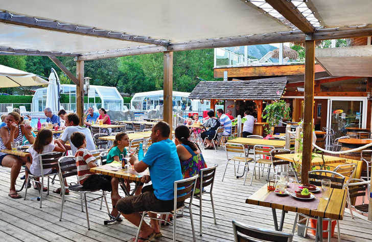 Camping les Fontaines Restaurant