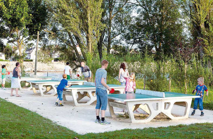 Camping Maisons Laffitte Table Tennis