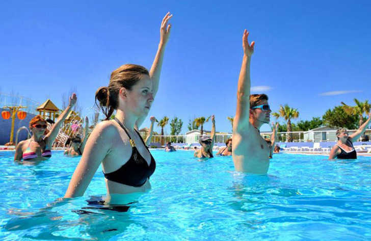 Camping Marisol Pool Fitness Classes