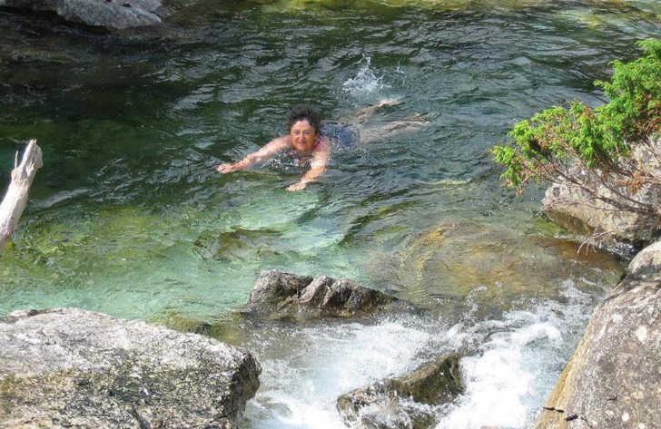 Campsite du Lac Swimming River