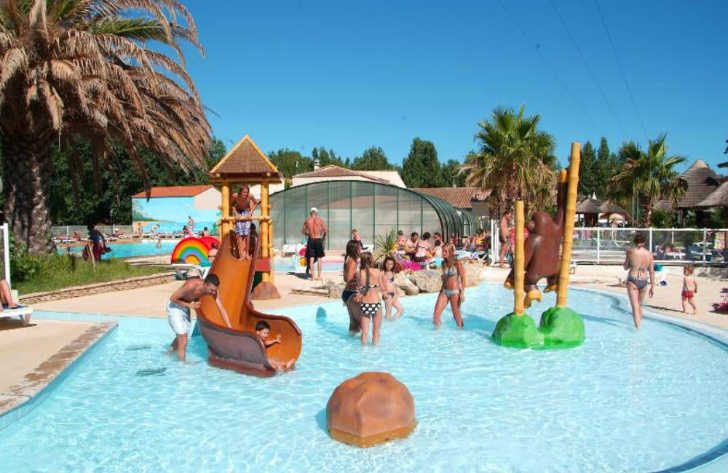 Campsite le Clos Virgile Pool Fun