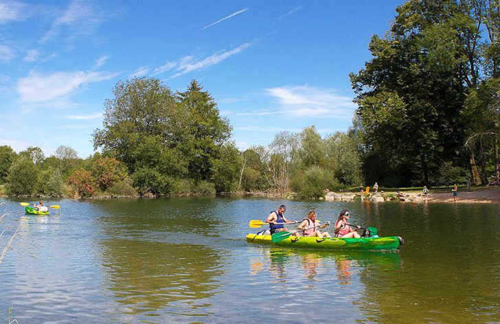 Campsite le Moulin Canoeing
