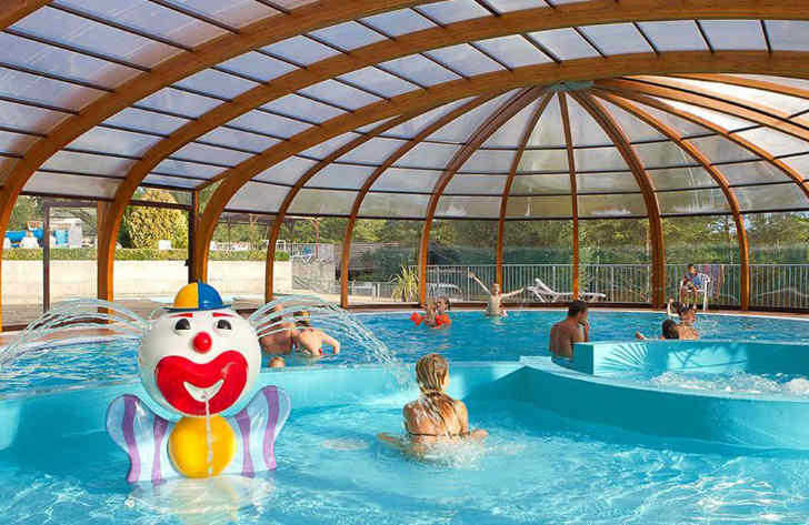 Campsite le Moulin Covered Children's Pool