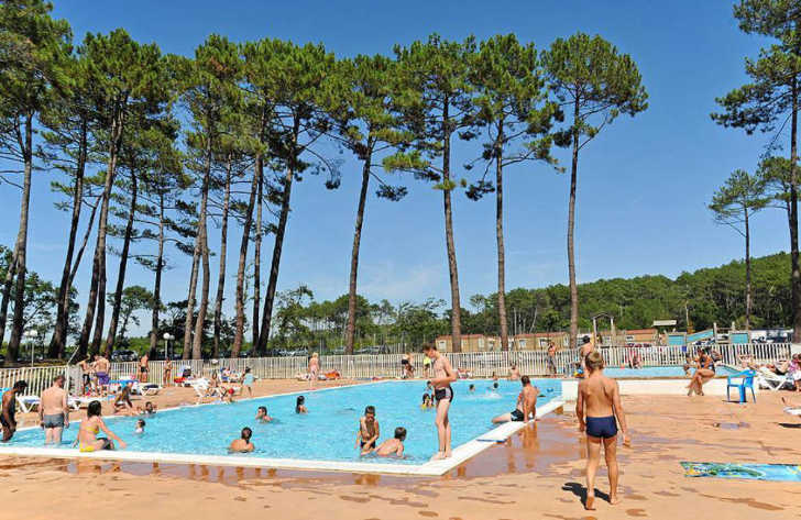 Campsite les Oyats Swimming Pool