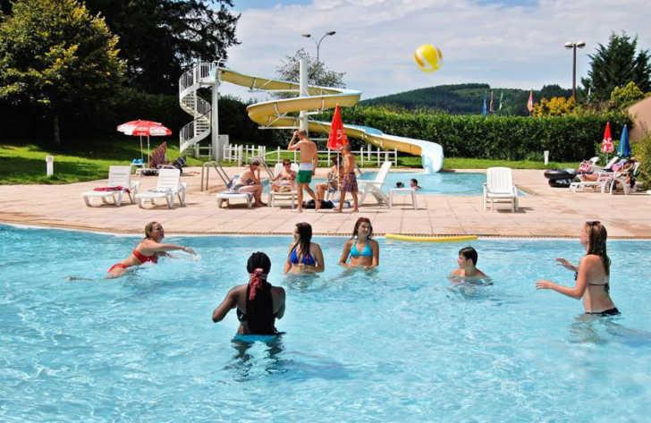 Campsite Village des Meuniers Pool