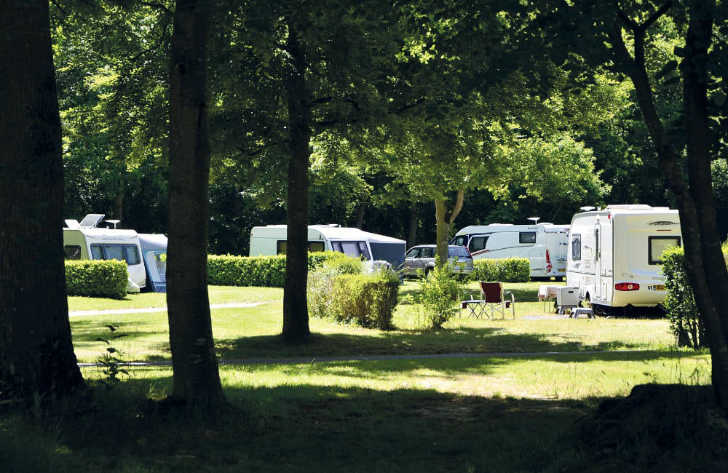 Chateau de Galinee Caravan Pitch