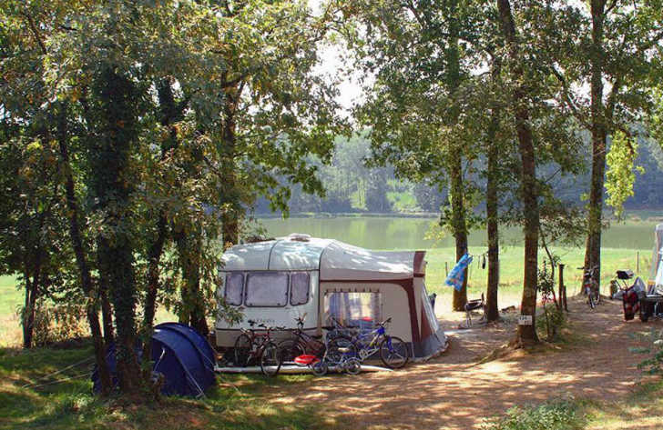 Chateau le Verdoyer Camping Pitch