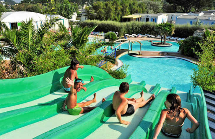 Domaine de Ker Ys Pool Waterslides