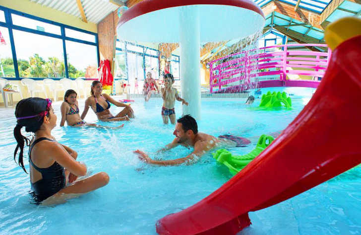 Domaine de Kerlann Indoor Swimming Pool
