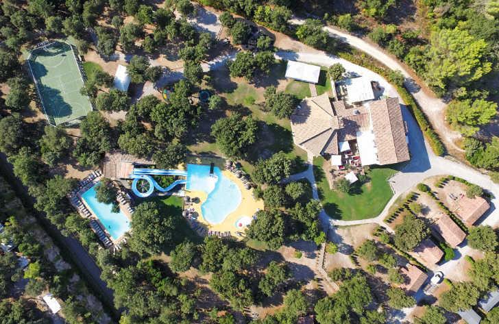 Domaine de Massereau Overview Campsite