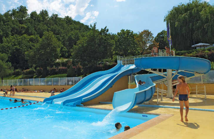 Domaine du Verdon Pool Slide