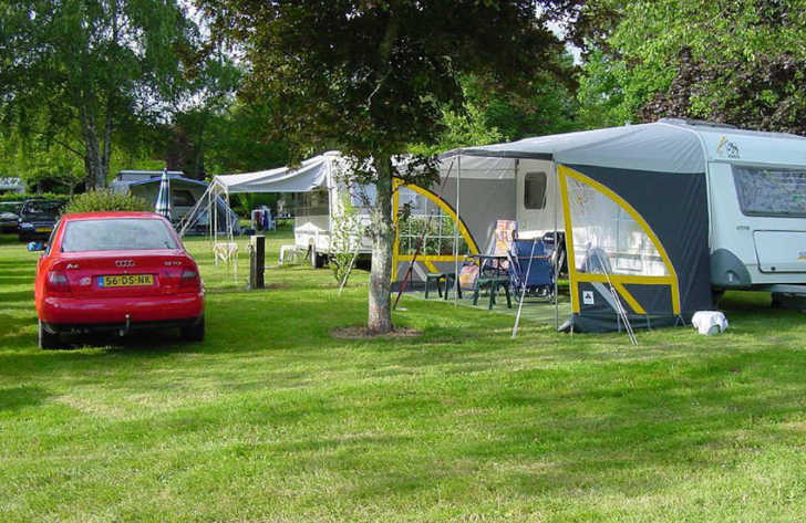 Domaine L'Orangerie de Lanniron Pitch Only Camping