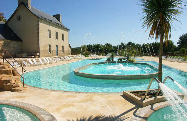 Domaine L'Orangerie de Lanniron Swimming Pool