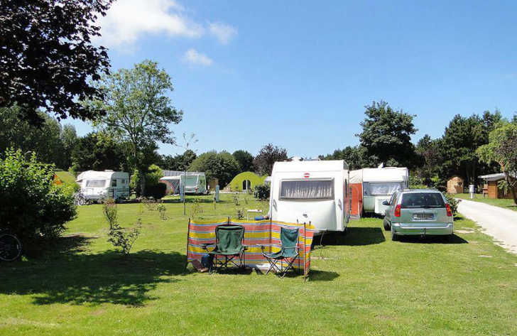 Pitch Only campsites in Picardy, France