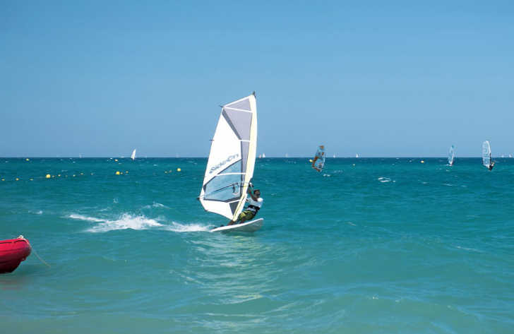 La Chapelle Beach Windsurfing
