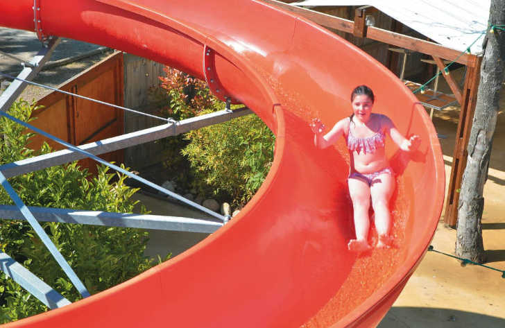 La Chapelle Waterslides
